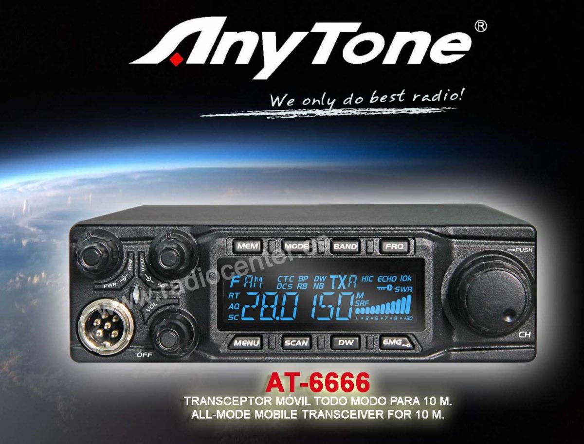 AT-6666 ANYTONE 10MTS RADIO HF